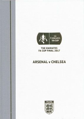 2017 FA Cup Final Arsenal v Chelsea - LIMITED EDITION Hardback version