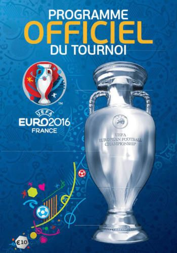 Euro 2016 Tournament Brochure - French language edition